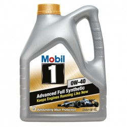 Масло Mobil 1 New Life 0W40 SL/SM/CF (4л)